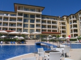 First line property in Bulgaria. Luxury apartment complex in the town of Byala.