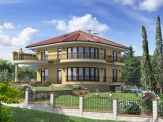 Newly built villa in Varna.