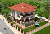 Properties near Varna, superb Villa in Balchik with Sea View.