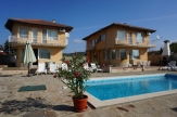 Two villas with swimming pool close to Albena Resort.