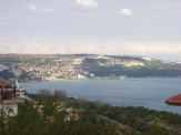 Property near Varna, building plot with sea view for sale in Balchik.