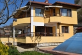 Villa in Balchik villa area with swimming pool and sea view.